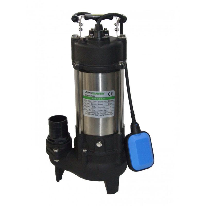 Pompa submersibila ProGarden V19-12-0.75, 750 W, 2860 rpm, 350 l/min, inaltime 13.5 m, adancime 5 m 2021 shopu.ro