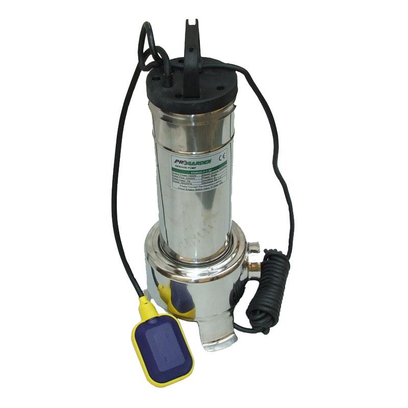Pompa submersibila apa menajera ProGarden VSW25-7-1.5F, 1500 W, 2860 rpm, 500 l/min, inaltime 12 m, adancime 7 m