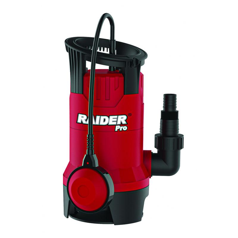 Pompa submersibila cu plutitor pentru apa murdara Raider RDP-WP42, 400 W, 7500 l/h, inaltime 5 m, adancime 5 m shopu.ro
