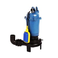 Pompa submersibila cu tocator si plutitor, 2600 W, 20000 l/h, 2860 rpm, material fonta
