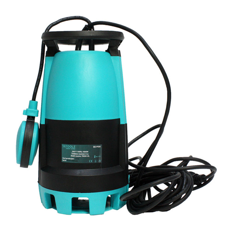 Pompa submersibila de apa curata/murdara Detoolz, 400 W, 0.5 CP, 13 m, 11000 l/h 2021 shopu.ro