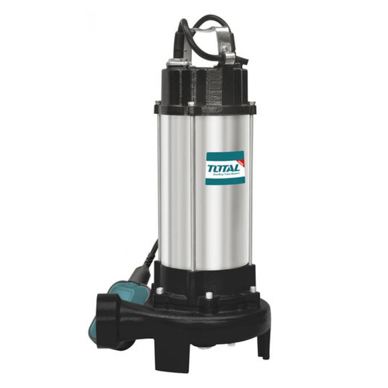 Pompa submersibila pentru apa menajera Total, 750 W, 21000 l/ora