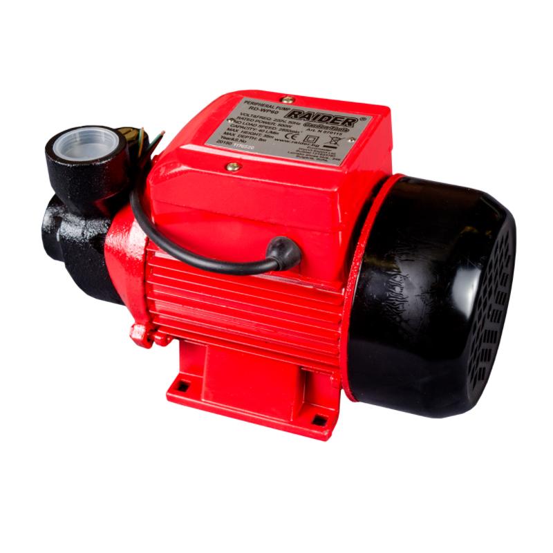 Pompa de apa curata Raider WP60, 550 W, 40 l/min, 2850 rpm, 10 bar, motor electric shopu.ro