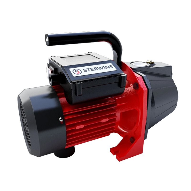 Pompa de suprafata Sterwins, 1100 W, 4800 l/h, 4.3 bar, maxim 45 m, carcasa fonta, apa curata 2021 shopu.ro