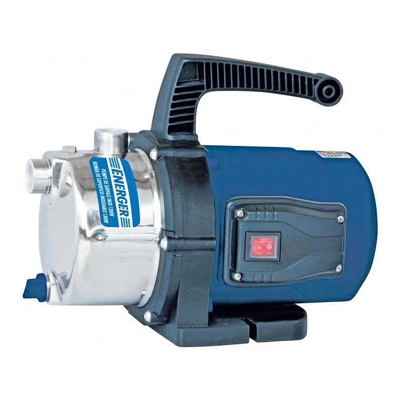 Pompa pentru gradina Energer, 1300 W, 4.8 bar, 48 m, 83 l/min, inox, Negru/Albastru 2021 shopu.ro