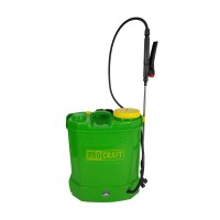 Pompa stropit cu acumulator Procraft, 16 l, tija 80 cm, PVC, Verde