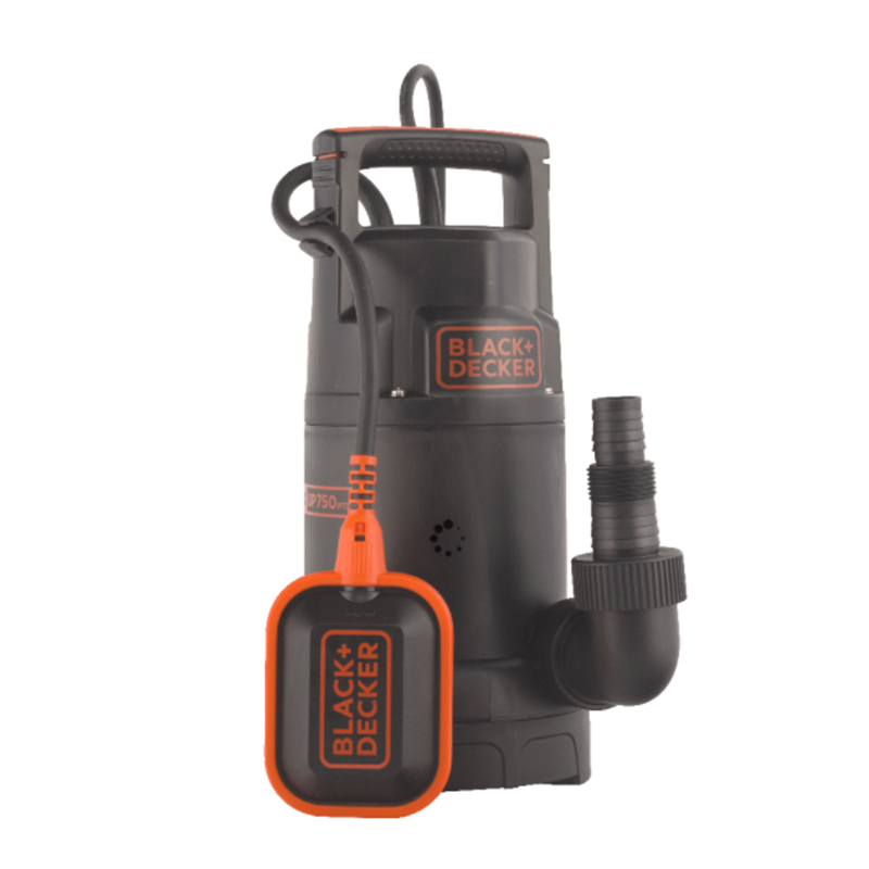 Pompa submersibila Black&Decker, 750 W, 13000 l/h, 2800 rpm, maxim 8 m, carcasa plastic shopu.ro