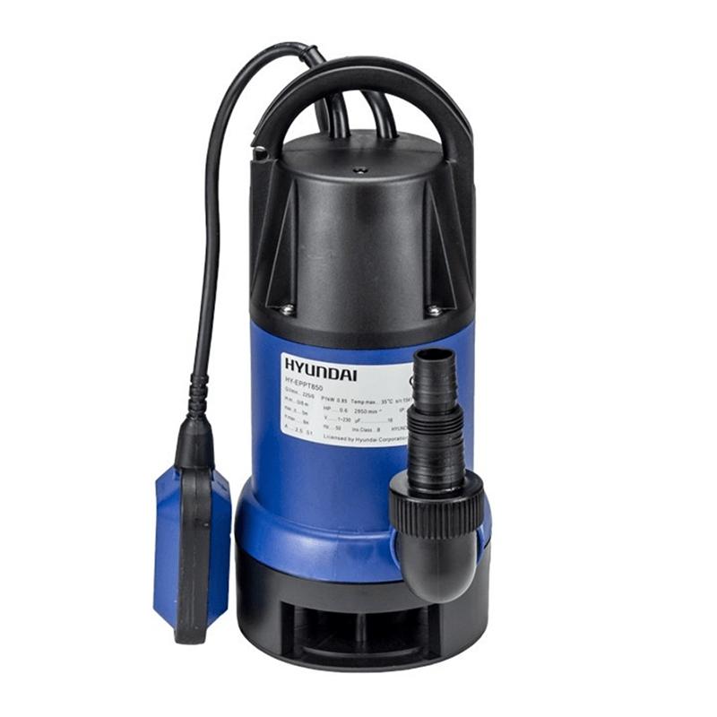 Pompa submersibila Hyundai, 850 W, 230 l/min, maxim 9 m, plastic, apa murdara shopu.ro