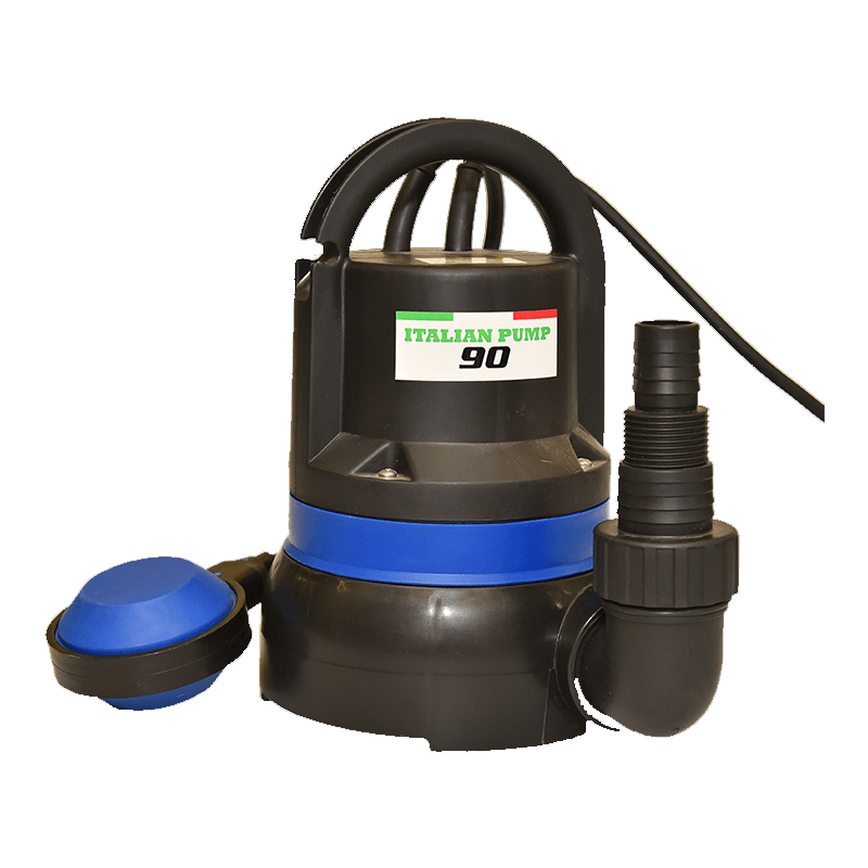 Pompa submersibila Ruris Italian Pump 90, 250 W, 83.3 l/min, maxim 6 m, carcasa plastic 2021 shopu.ro