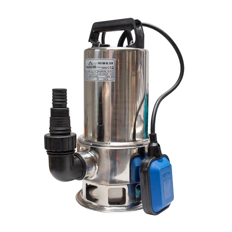 Pompa submersibila Technik, 1100 W, 250 l/min, maxim 10.5 m, apa murdara shopu.ro