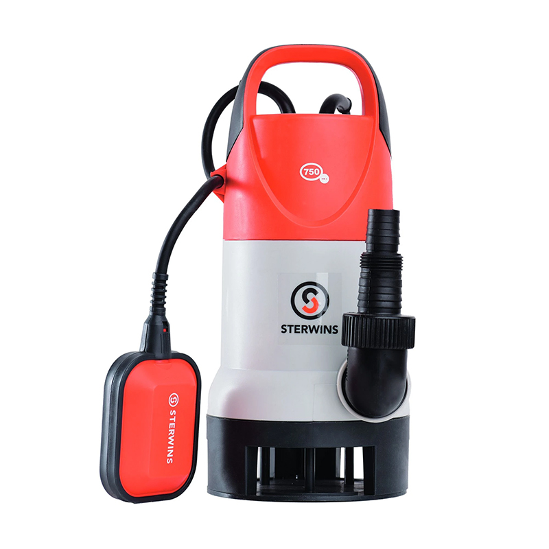 Pompa submersibila apa curata/murdara Sterwins, 750 W, 13500 l/h, 0.7 bar, maxim 7 m 2021 shopu.ro