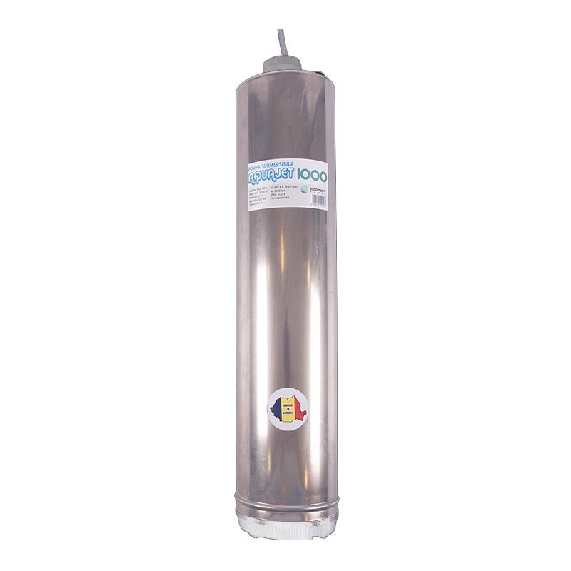 Pompa submersibila pentru put Aquajet, 1000 W, 230 V 2021 shopu.ro