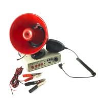Portavoce auto cu amplificator, 25 W, inregistrare, prindere magnetica