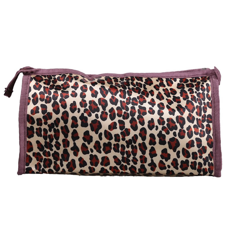 Portfard pentru cosmetice PF1, model animal print 2021 shopu.ro