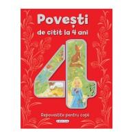 Povesti de citit la 4 ani, editura Girasol