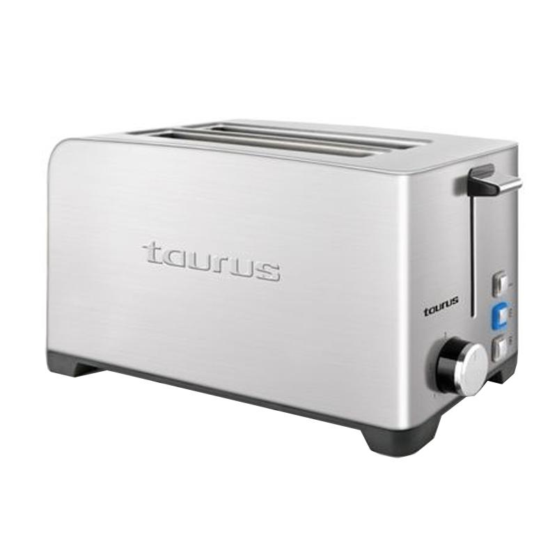 Prajitor de paine My toast Duplo Legend Taurus, 1400 W, 4 feliI, LED, 3 functii, 7 trepte prajire, carcasa inox 2021 shopu.ro