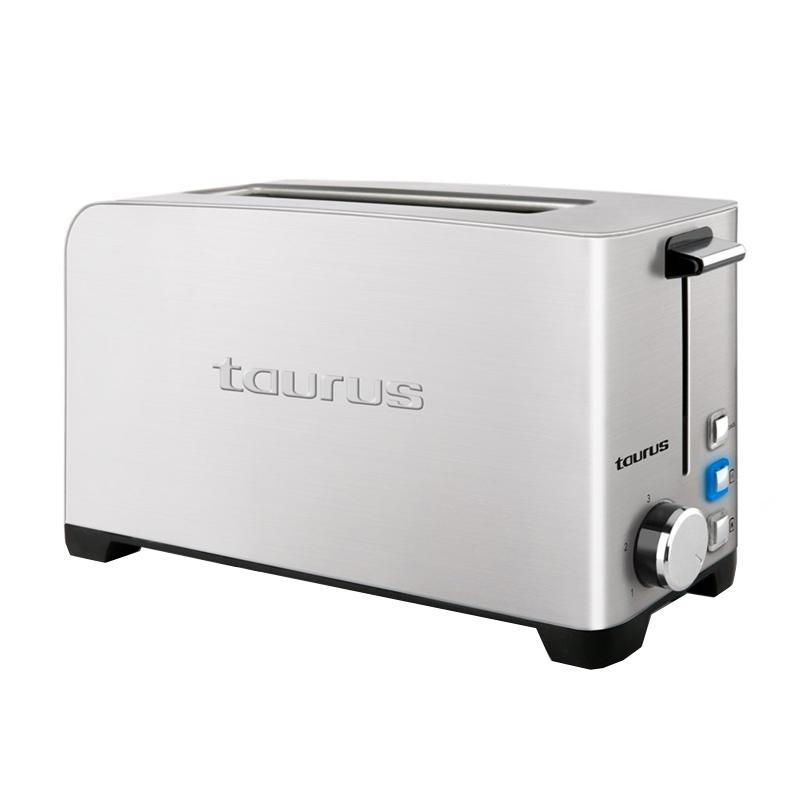 Prajitor de paine My toast legend Taurus, 1050 W, 1 felie, LED, 3 functii, 7 trepte prajire, carcasa inox 2021 shopu.ro