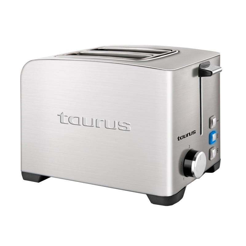 Prajitor de paine My toast II legend Taurus, 850 W, 2 felii, 3 functii, 7 trepte prajire, carcasa inox 2021 shopu.ro