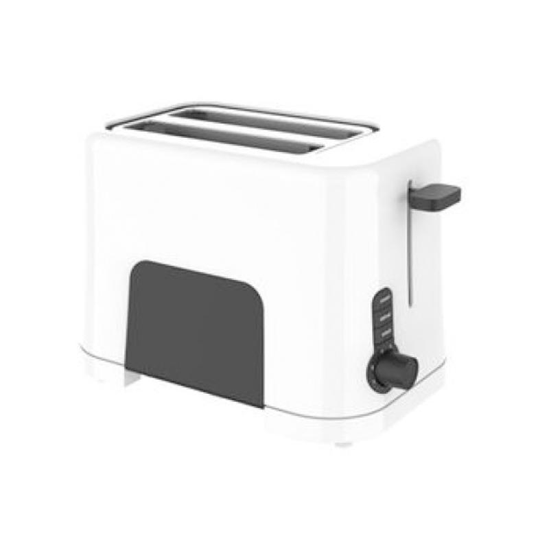 Prajitor de paine Studio Casa Neology, 850 W, 2 felii, functie decongelare, incalzire si anulare, Alb/Negru 2021 shopu.ro