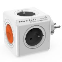 Prelungitor tip cub Allocacoc PowerCube Remote, 4 prize, telecomanda