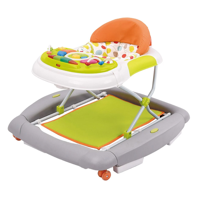 Premergator copii 2 in 1 Honey Baby, sunete si lumini, maxim 12 kg, 6-18 luni, Multicolor 2021 shopu.ro