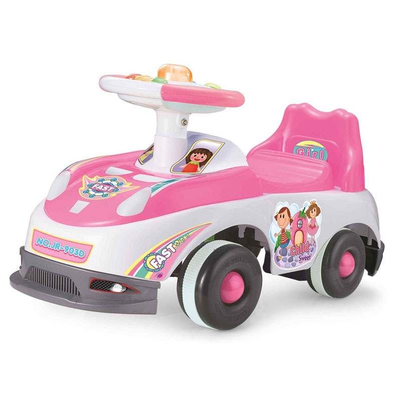 Premergator tip masina J.R. Kid Ride On Car, muzica si lumini 2021 shopu.ro