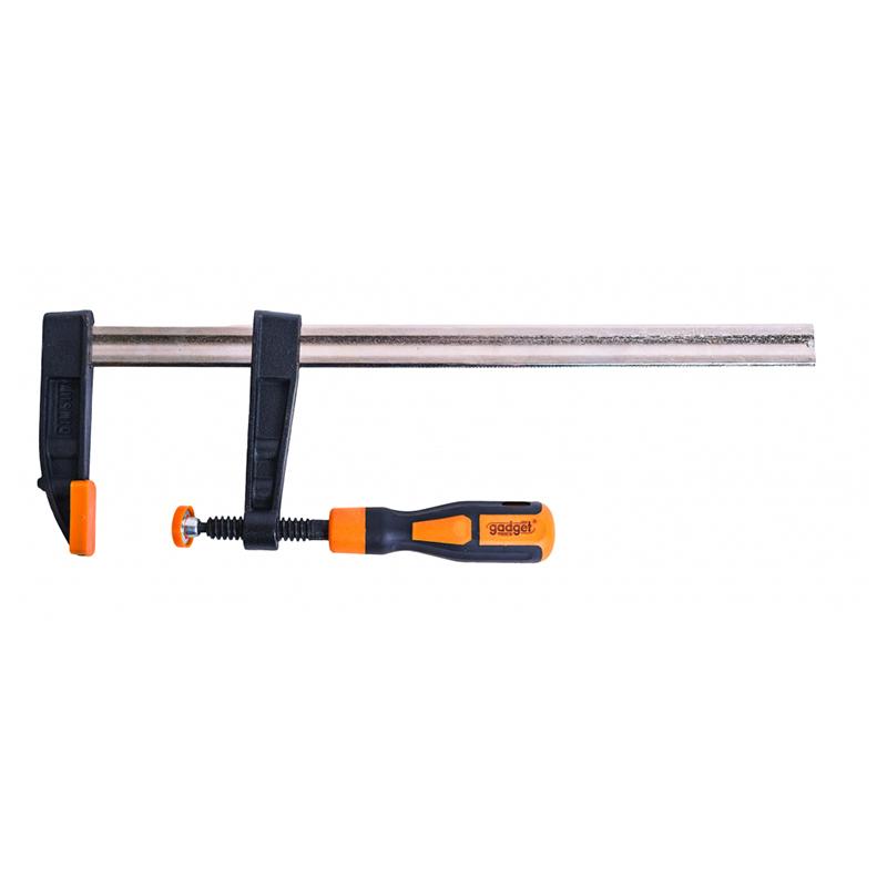 Presa manuala Gadget, 80 x 300 mm, otel carbon, maner bi-material 2021 shopu.ro