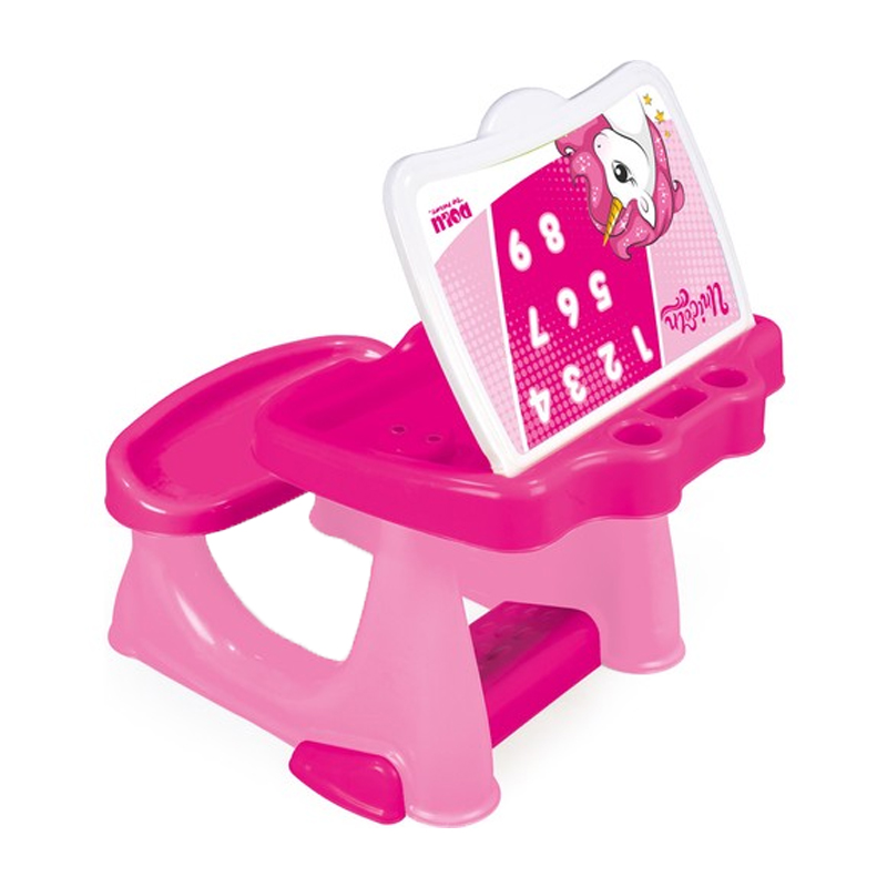 Prima mea masa de studiu Dolu Unicorn, scaun confortabil 2021 shopu.ro