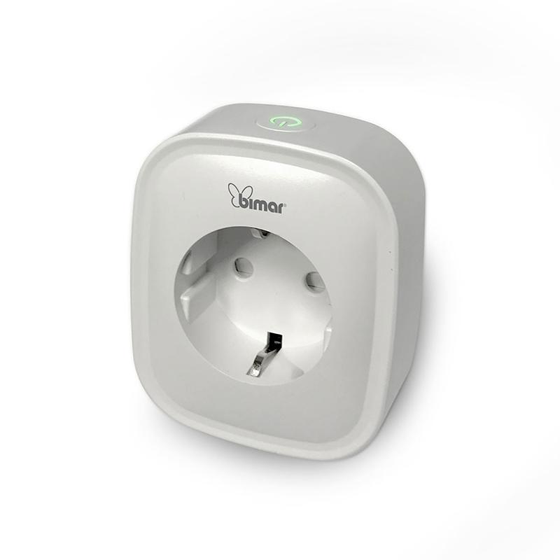 Priza Wi-Fi Bimar, 10 A, 240 V, IOS/Android, control vocal shopu.ro