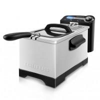 Friteuza Professional 3 Plus Taurus, 3 l, 2100 W, LED, termostat reglabil, Inox