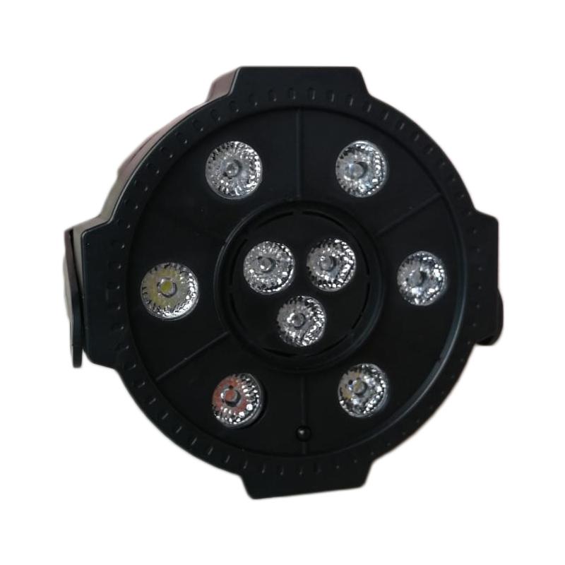 Proiector LED Par Light 3, 9 x LED, stick USB, telecomanda