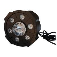 Proiector LED Par Light 4, 6 x LED, glob RGB, stick USB, telecomanda