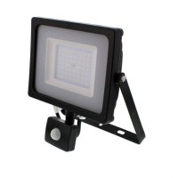 Proiector LED SMD cu senzor Well, 50 W, 4000 lm, 4000 K