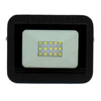 Proiector LED Well, 10 W, 800 lm, IP65, 4000 K, Negru
