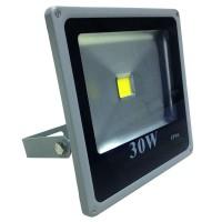 Proiector slim cu LED, 30 W, ECO LED, Gri