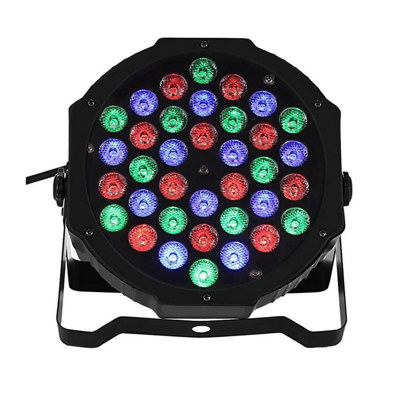 Proiector joc de lumini PAR Led, 36 leduri, RGB, DMX