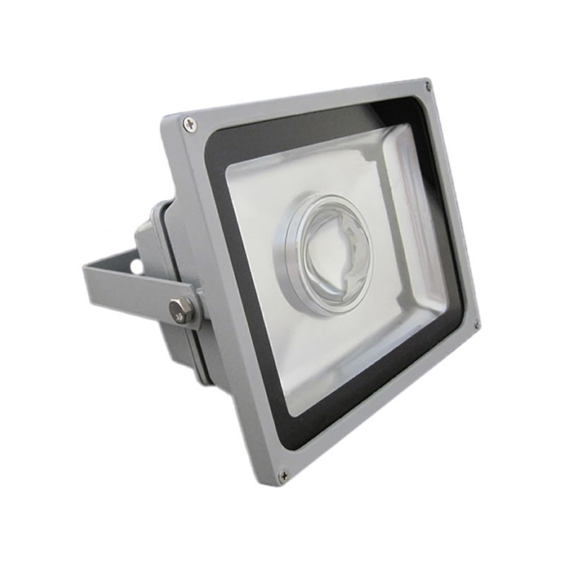 Proiector cu LED si lupa 20W, ECO LED, culoare gri