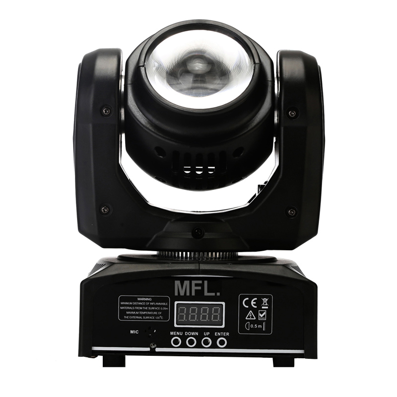 Proiector lumini Beam Moving Head Light, 40 W, LCD, 4 butoane 2021 shopu.ro