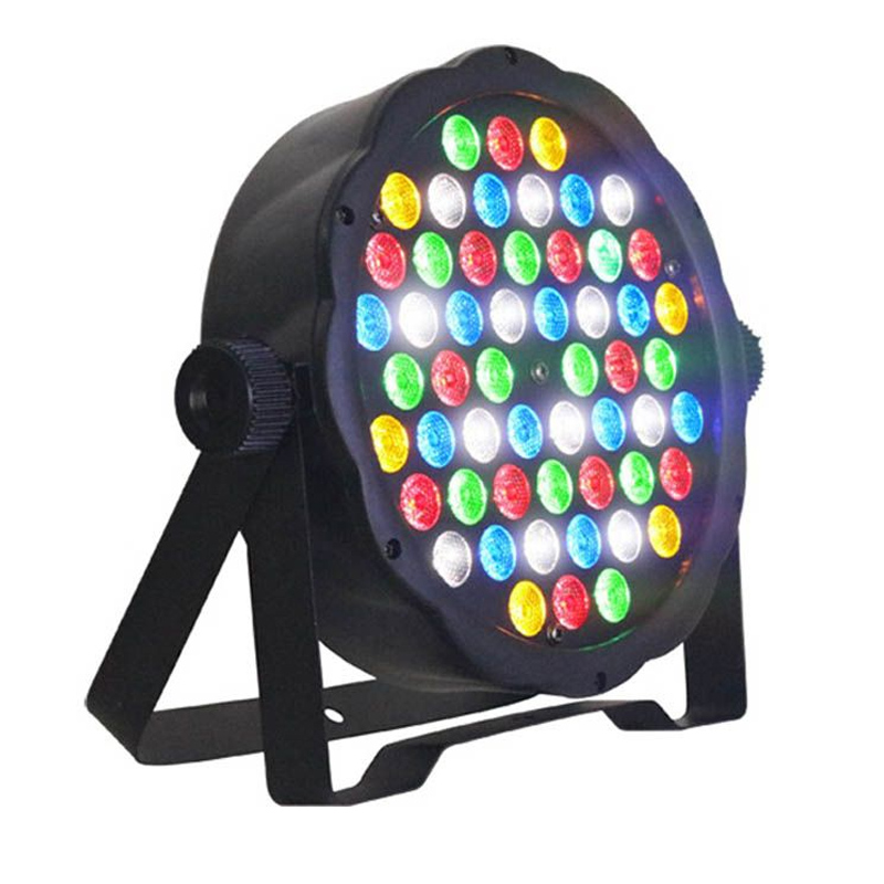 Proiector lumini PAR RGB, 54 x LED, sistem fixare