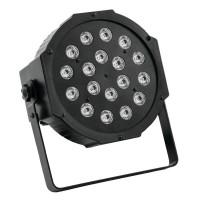 Proiector lumini RGB, 18 x LED, DMX