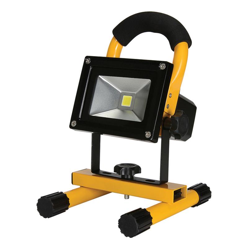 Proiector portabil LED cu stativ, 20 W, reincarcabil shopu.ro