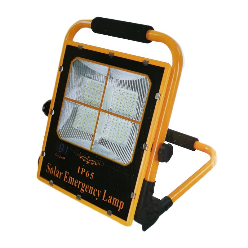 Proiector solar Emergency Lamp, 60 W, display, 48 LED x 4, Iincarcare USB shopu.ro