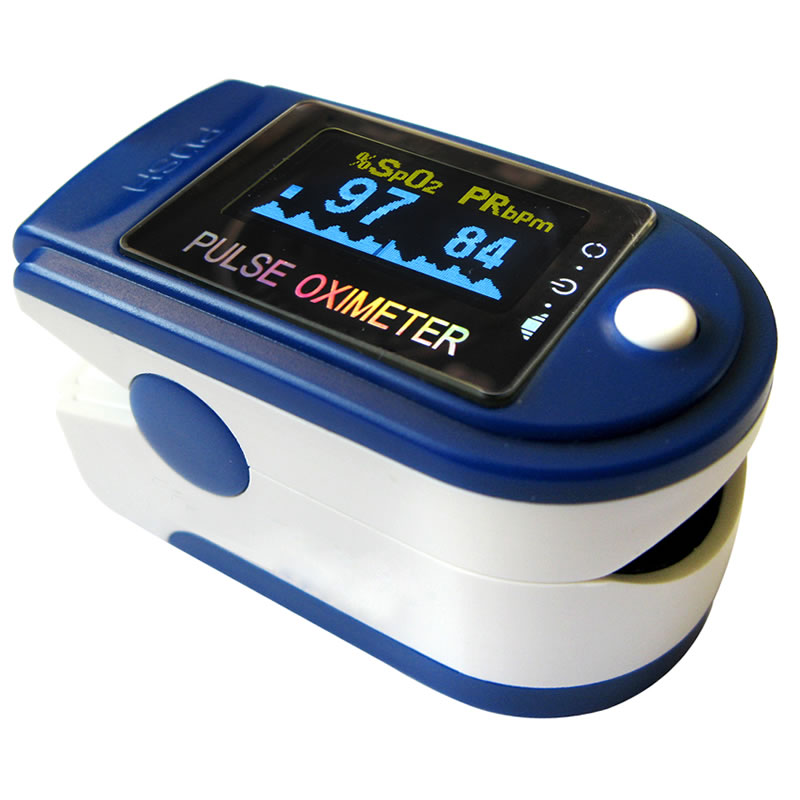 Pulsoximetru profesional Contec CMS-50D+, alarma, USB 2021 shopu.ro