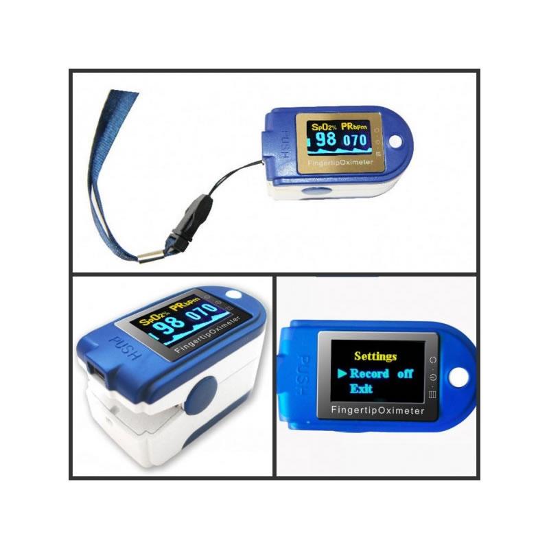 Pulsoximetru profesional Contec CMS-50D+, alarma, USB