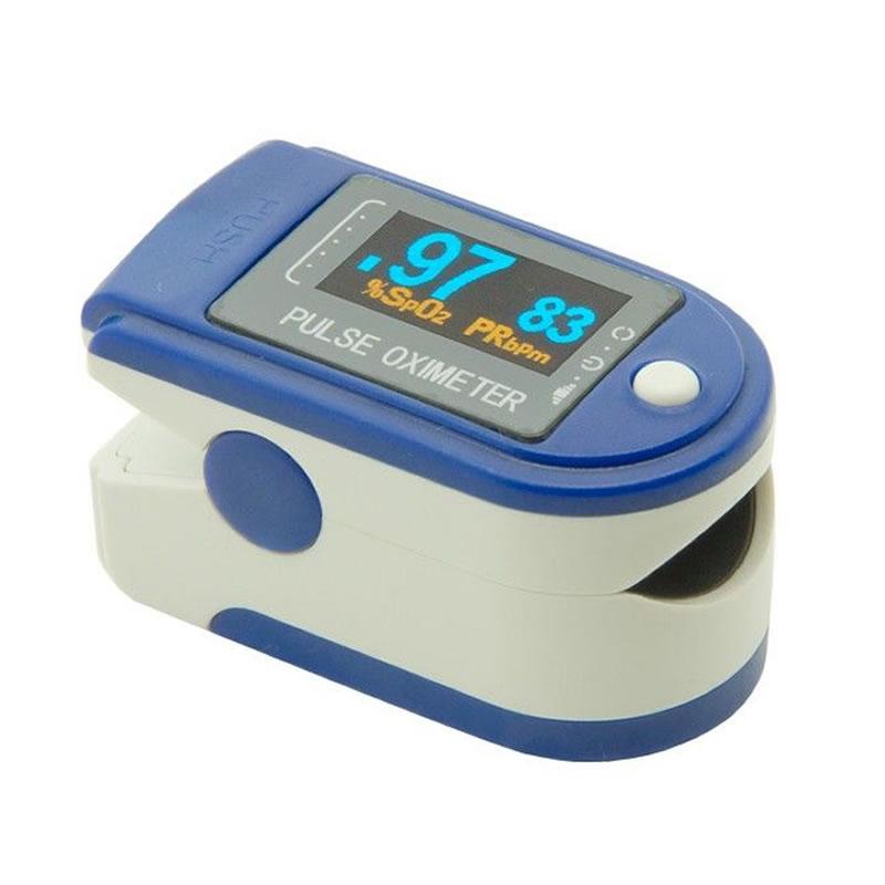 Pulsoximetru Contec CMS-50D, ecran LED, puls 30-255 2021 shopu.ro