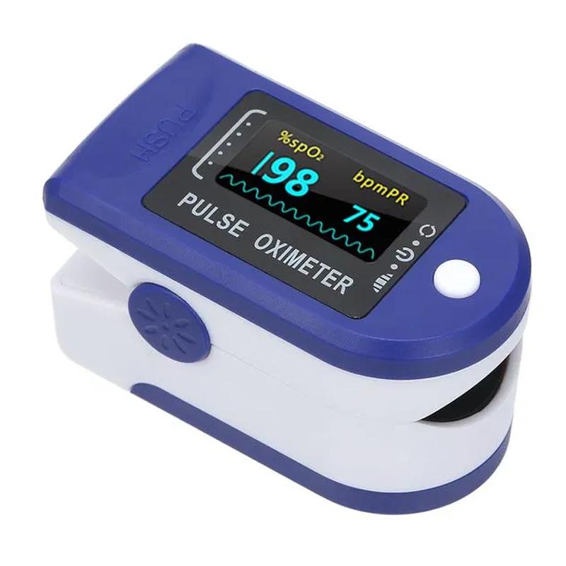 Pulsoximetru Fingertip, ecran LCD, 2 x AAA, clasa BF 2021 shopu.ro
