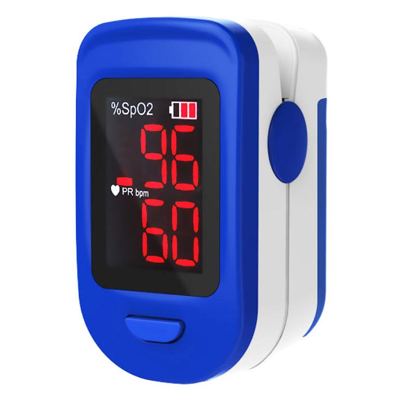 Pulsoximetru RedLine FS10C, indica nivelul de saturatie a oxigenului, masoara rata pulsului 2021 shopu.ro