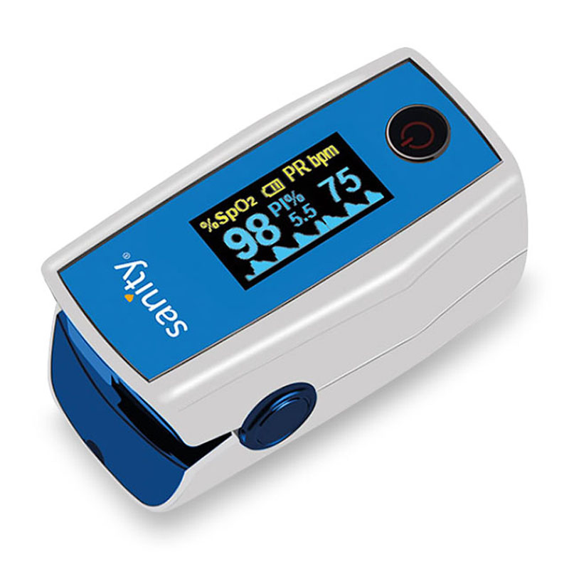 Pulsoximetru Sanity Duo Control, indica nivelul de saturatie a oxigenului, masoara rata pulsului 2021 shopu.ro