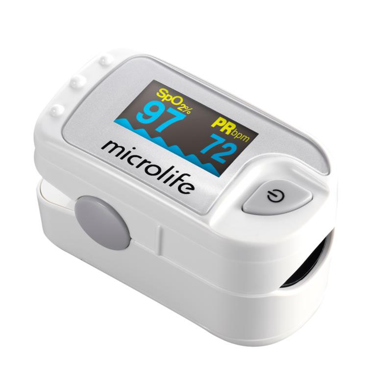 Pulsoximetru de deget Microlife OXY 300, 6 moduri de afisare, afisaj OLED 2021 shopu.ro