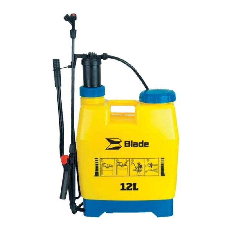 Pompa de stropit Blade, 12 l, material polietilena, Galben/Albastru 2021 shopu.ro